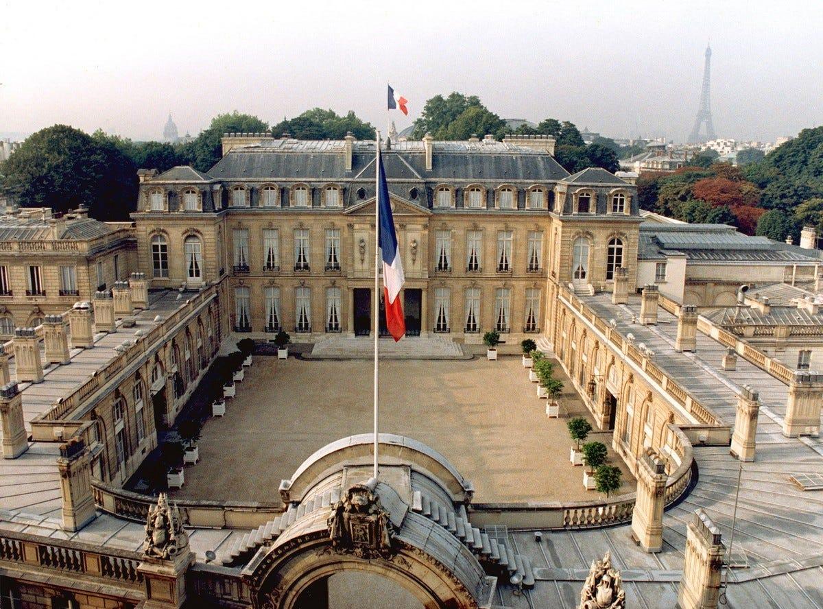 Il Palazzo dell'Eliseo di Parigi – Informazioni per visitarlo, orari e  storia