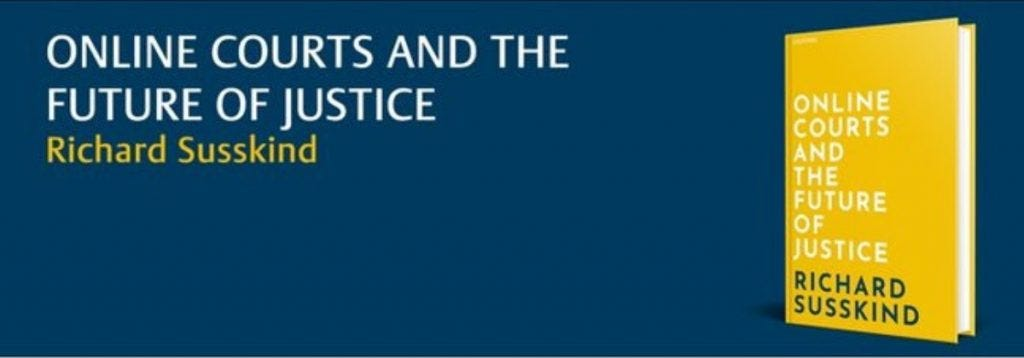 Image result for online courts and the future of justice