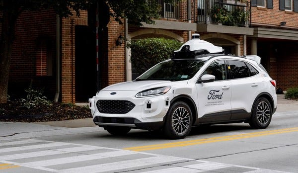 Ford and Argo AI launch their 4th generation AV.