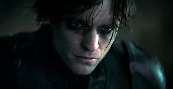 """Robert Pattinson in """"The Batman,"""" which is scheduled for release in theaters in 2022."""