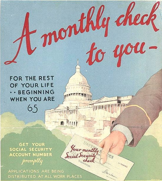 Social Security Poster - Retirement Income Journal