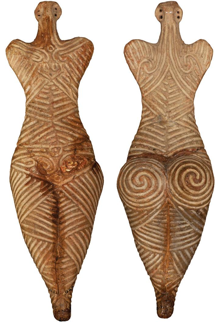 Ceramic Female Figurine - Archaeology Magazine