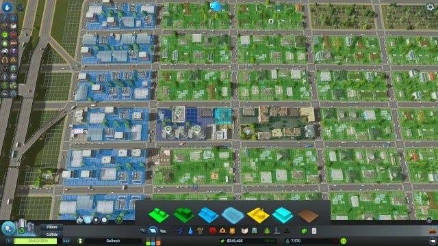 Image result for sim city zoning
