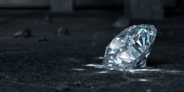 Diamond Diamond. 3D Render diamond stock pictures, royalty-free photos & images