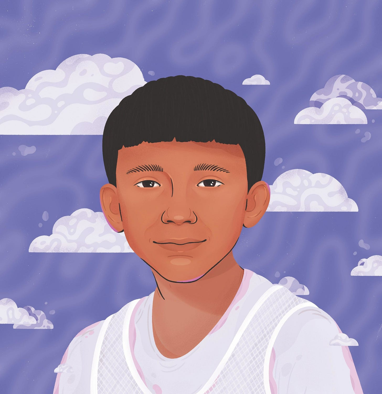 Adam Toledo. Illustration by Thumy Phan.