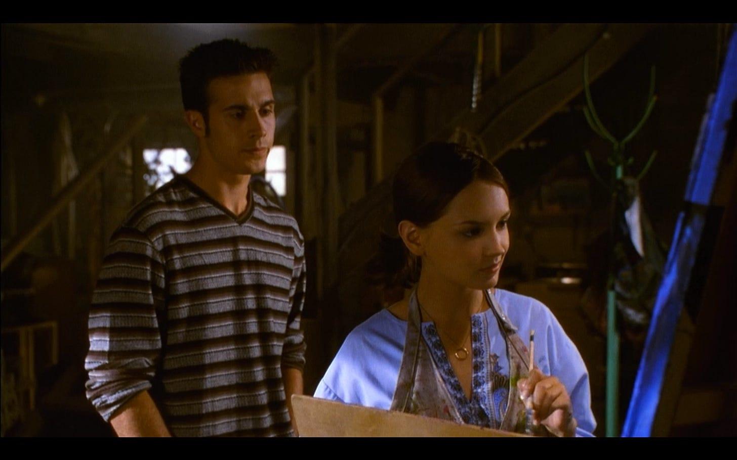 "Liz Tells Frank What Happened In ""She's All That"" | Liz Tells Frank What  Happened In..."