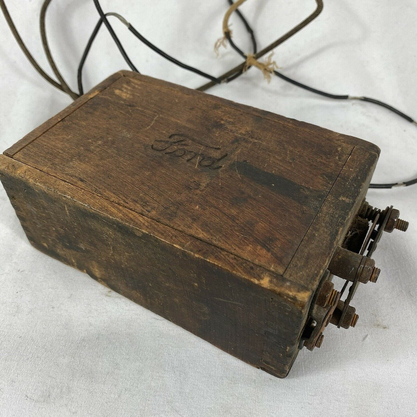 Old Ford Model-T Battery