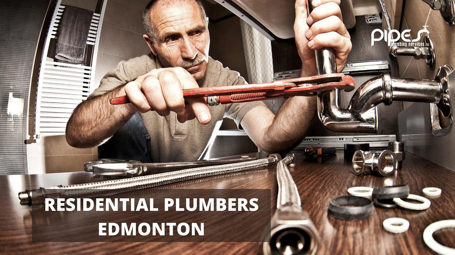 residential plumbers Edmonton