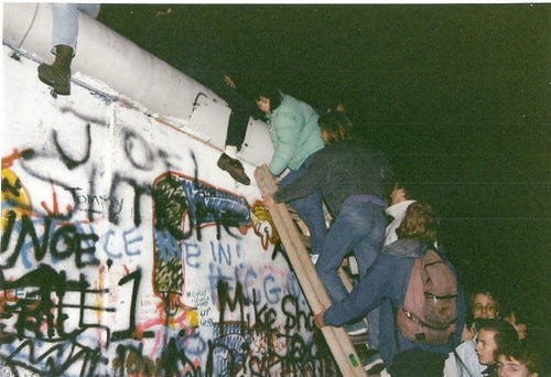 """""""The fall of the Berlin Wall - November 1989"""" by gavinandrewstewart is licensed under CC BY 2.0"""