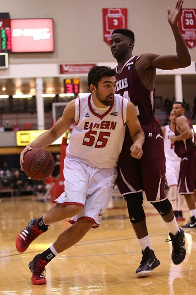 Venky Jois - Courtesy Eastern Washington Athletics