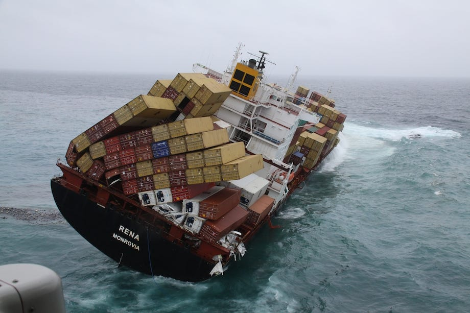 Number of Containers Lost at Sea Falling, Survey Shows – gCaptain