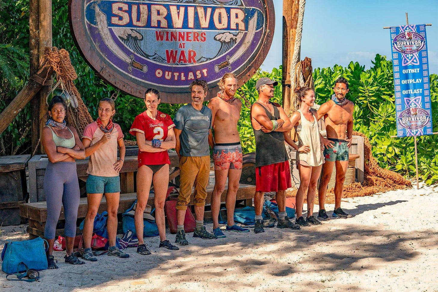 Survivor: Chris Hammons wants a season with no prize money | EW.com