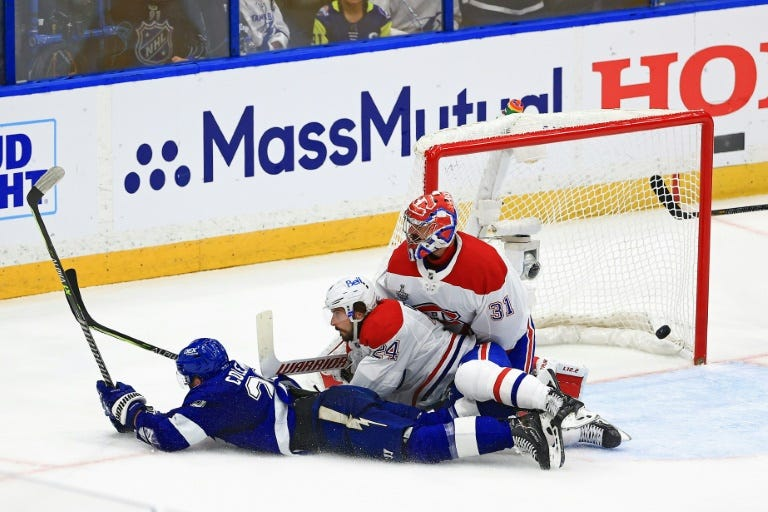 Lightning Beat Canadiens To Grab 2-0 Lead In NHL Final | Barron's