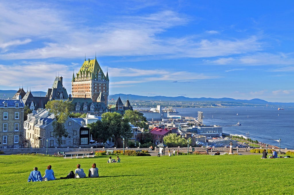 """""""Quebec-7265 - View from Ramparts"""" by archer10 (Dennis) is licensed under CC BY-SA 2.0"""