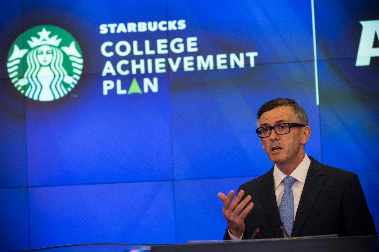 "Starbucks, Walmart, and Amazon Offer ""Free"" College—but Read the Fine Print"