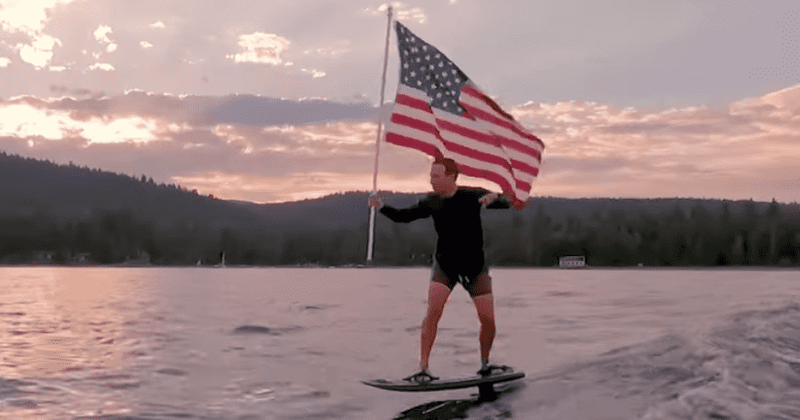Mark Zuckerberg trolled for surfing holding US flag on 4th of July: 'AI  getting too human like' | MEAWW