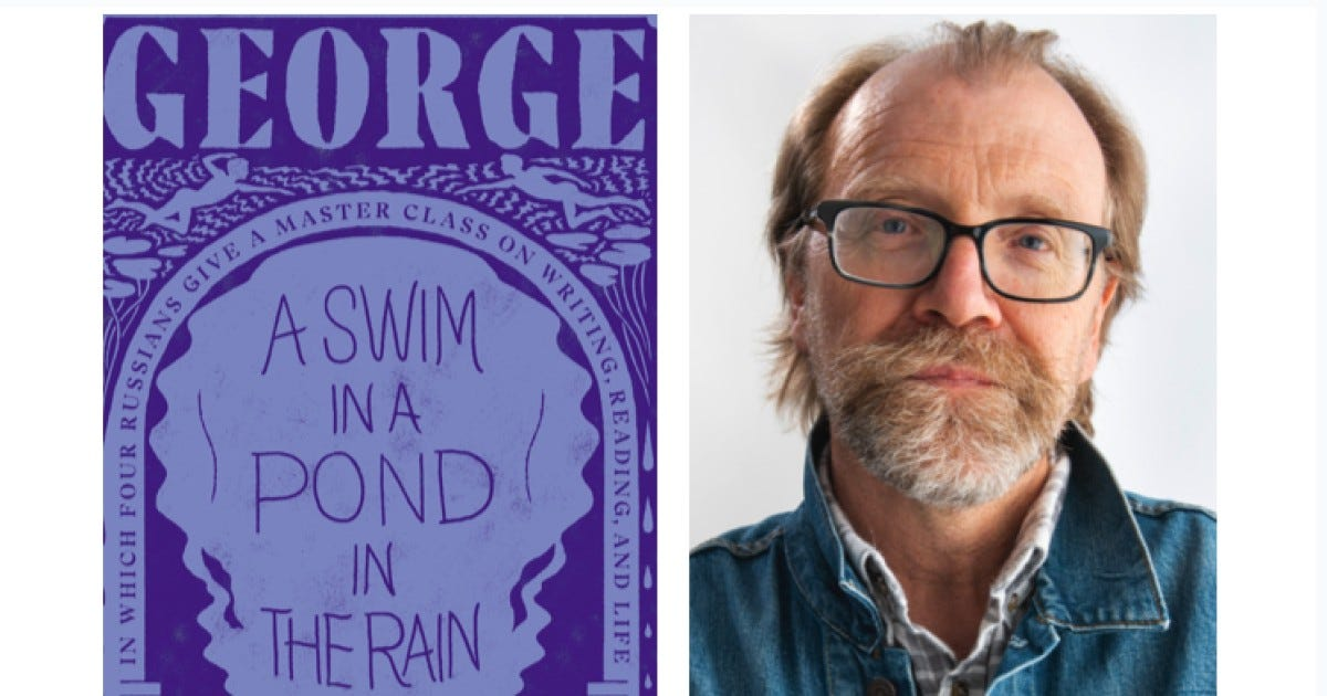 """Review: George Saunders' """"A Swim in the Pond in the Rain"""" - Los Angeles  Times"""