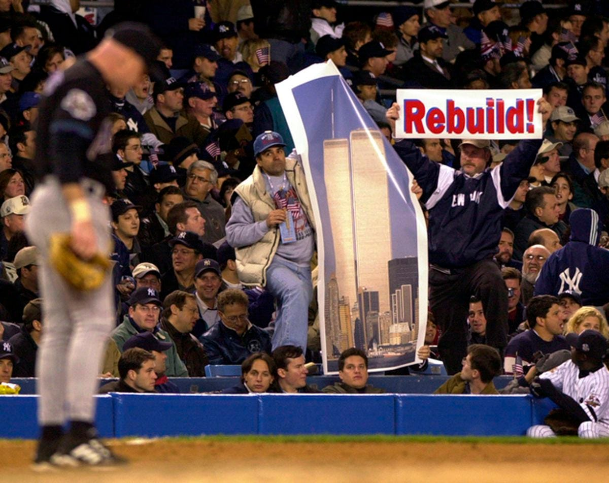 Boston bombing, Diamondbacks at Yankee Stadium elicit memories of time  around 9/11 ... but not fear - New York Daily News