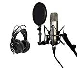 Rode NT1A Anniversary Vocal Condenser Microphone Bundle with Knox Headphones