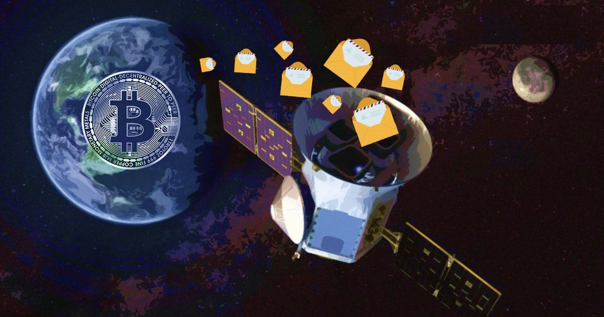 BTC space messages — Anonymous Bitcoin and Crypto Supporter Pens ...