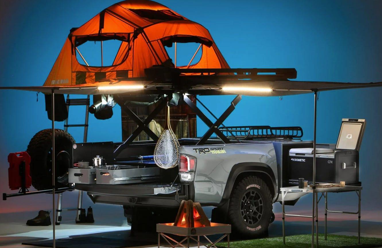 "The Toyota ""Trailer"" For Adventuring Fun"