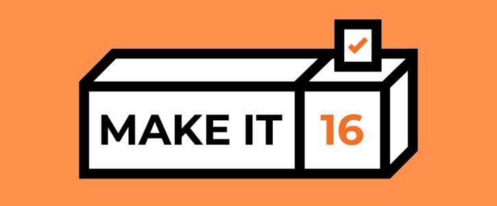 Make It 16 logo