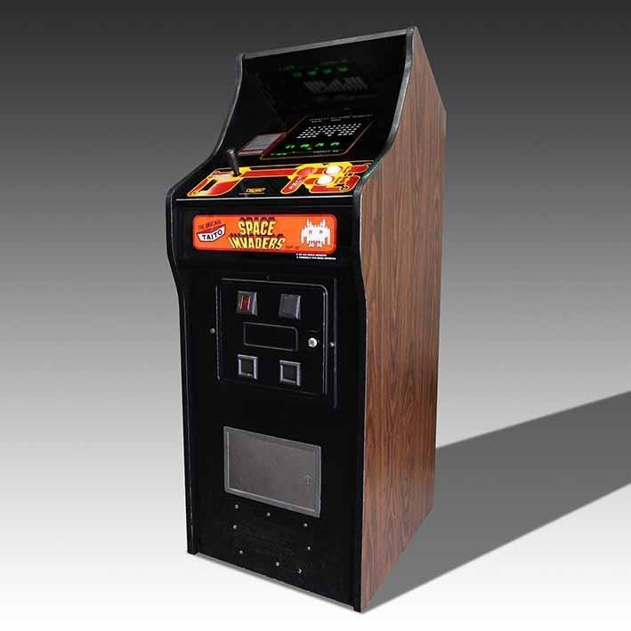 Original Taito Space Invaders Arcade Machine | The Games Room Company