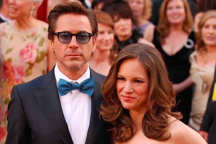 Robert Downey Jr. and Susan Downey at the 2010 Academy Awards