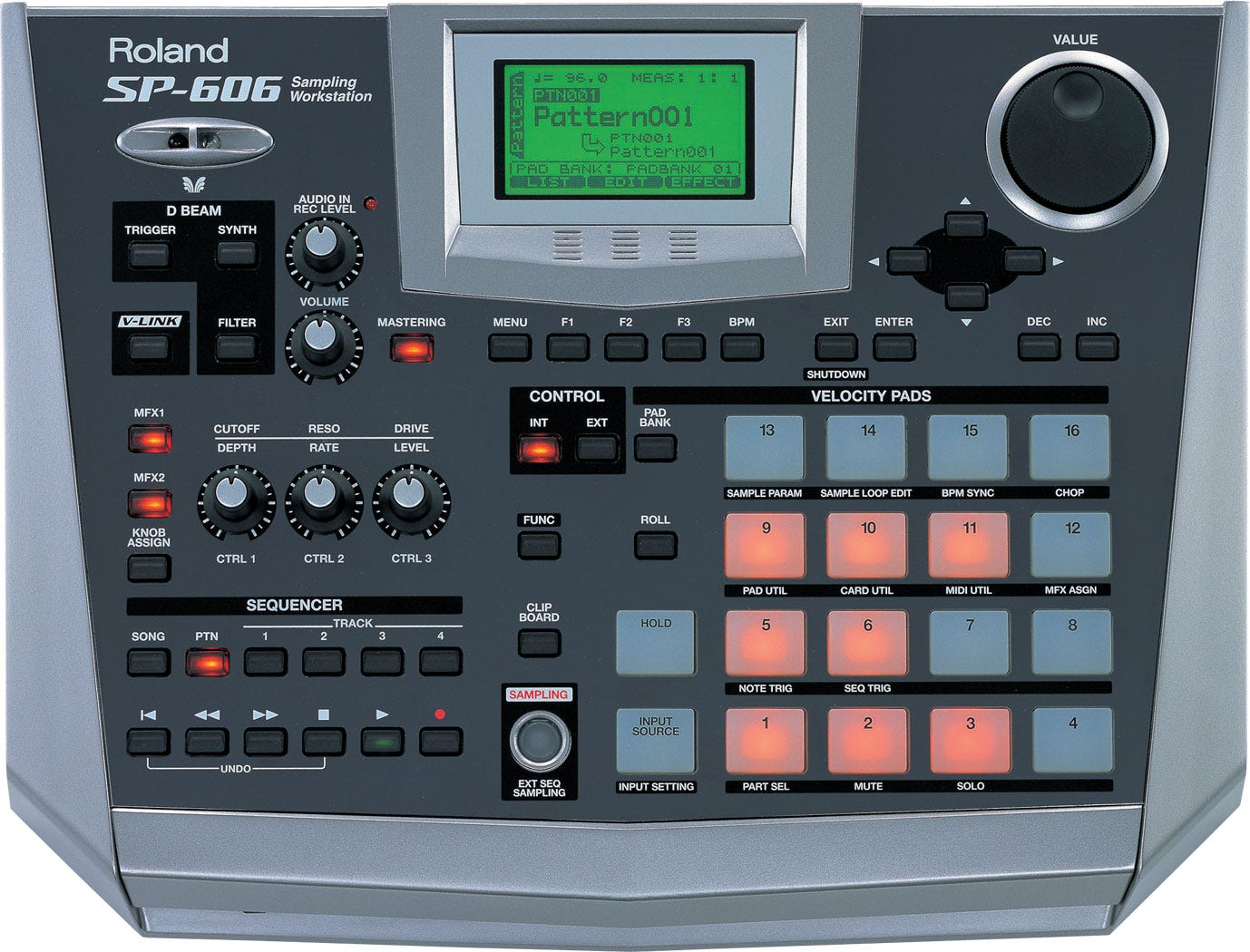 SP-606 | Sampling Workstation - Roland