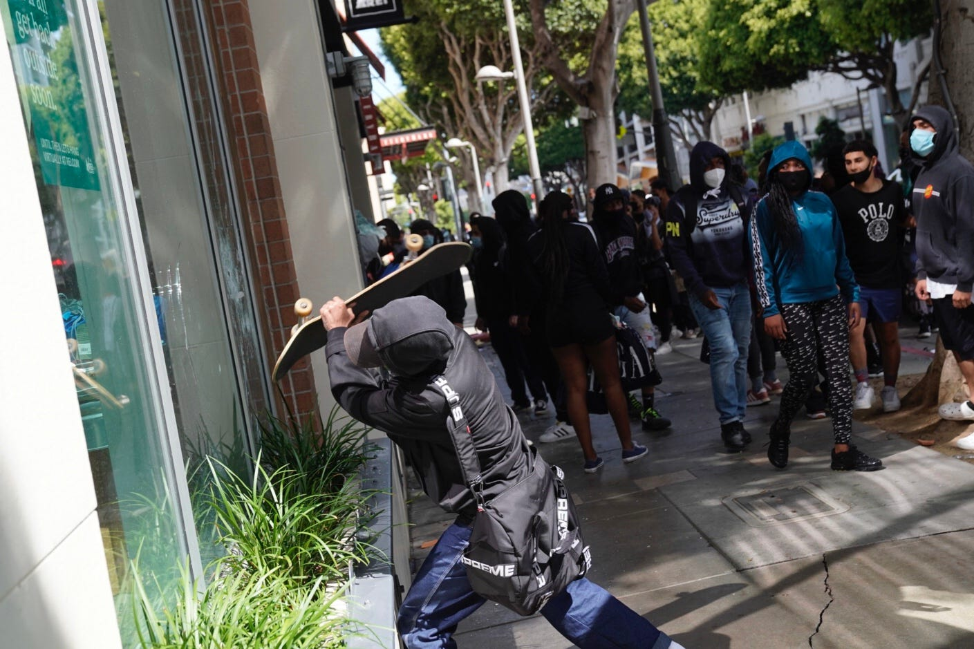 White supremacist group poses as Antifa online, call for violence