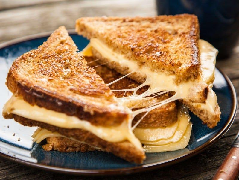 grilled cheese sandwich - Grilled Cheese Sandwich