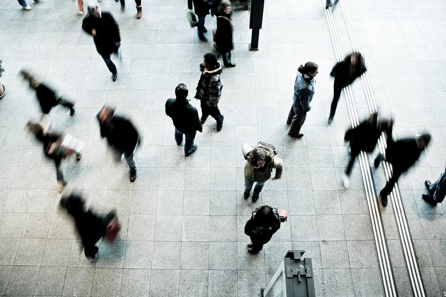 """Image of a crowd of people for article by Larry G. Maguire titled """"Things You Can Do In Time of Crisis"""""""
