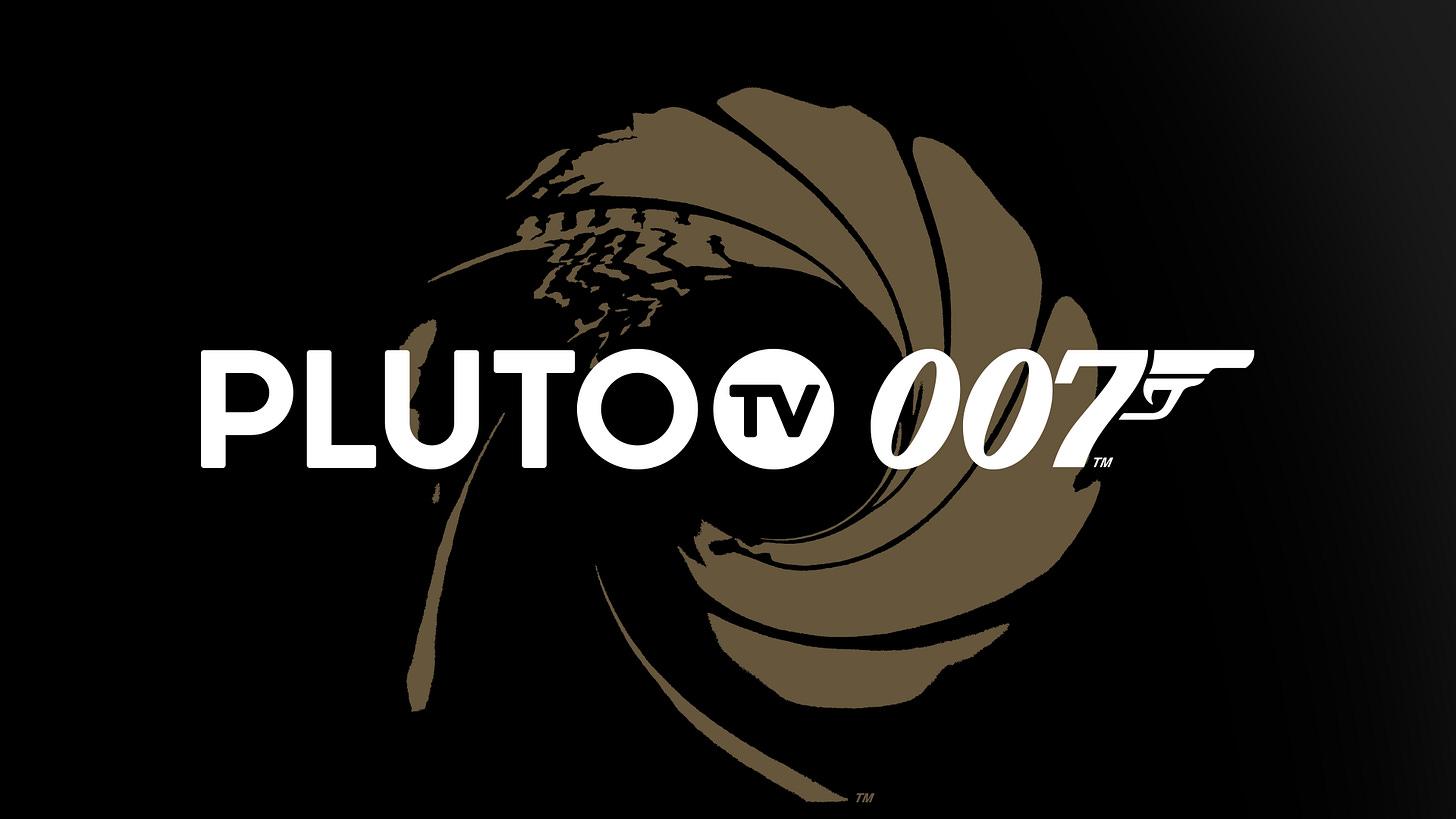 Pluto TV Preps 24/7 James Bond Pop-Up Channel Ahead Of New Movie Launch –  Deadline