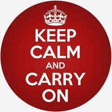 keep calm and carry on | Dictionary.com