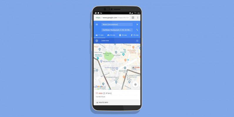 Google's lightweight Maps Go is just a Progressive Web App