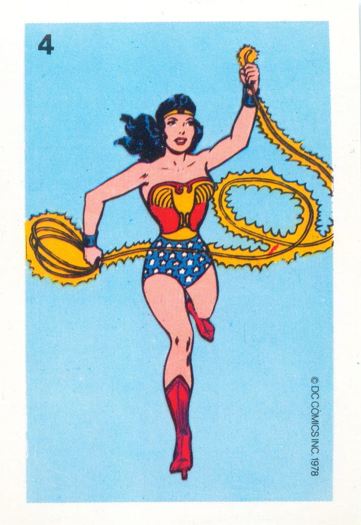 """""""1978 Wonder Woman Whitman Cards 4"""" by andertoons is licensed under CC BY 2.0"""
