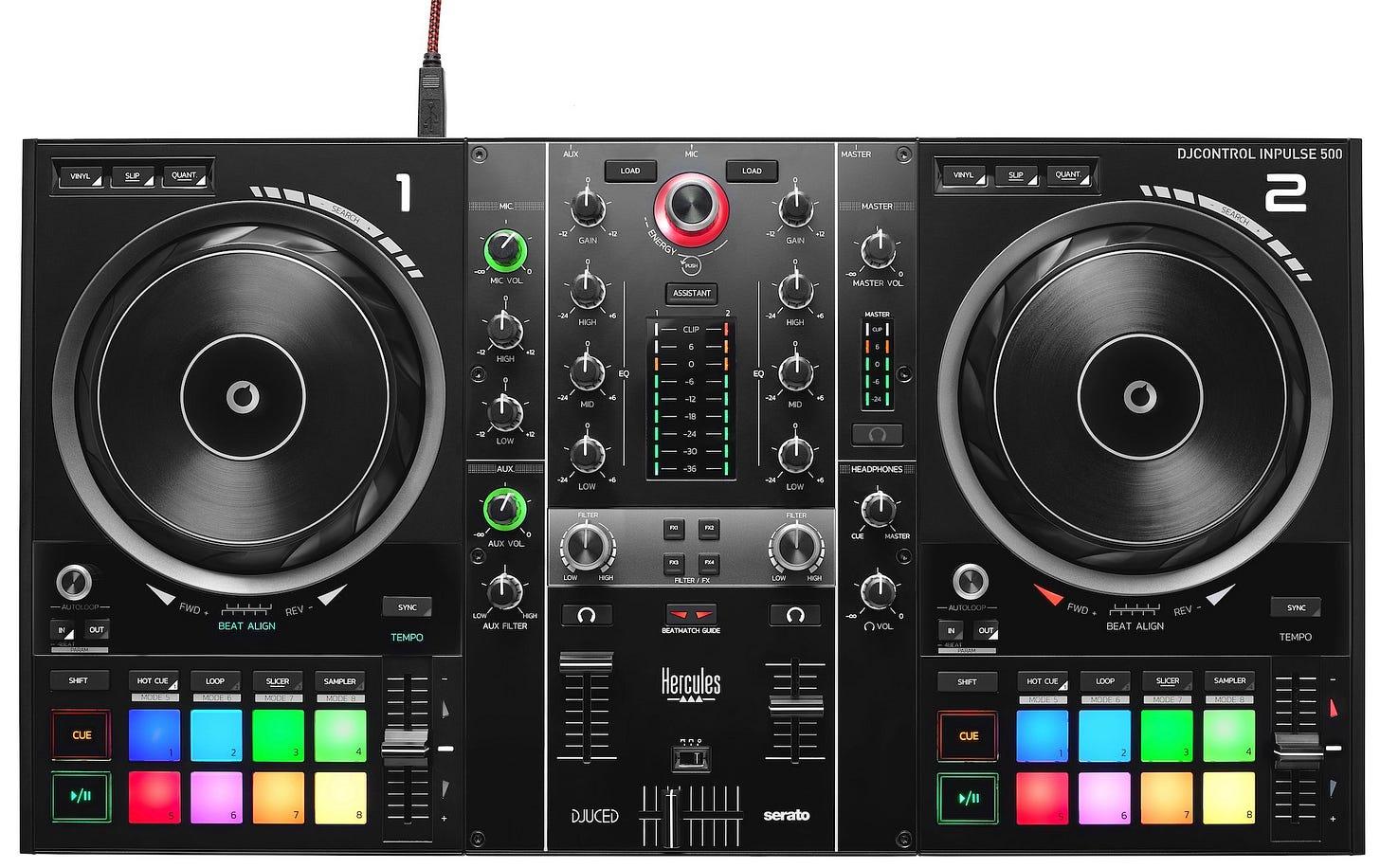 Hercules DJ Controllers announces the Inpulse 500 ...