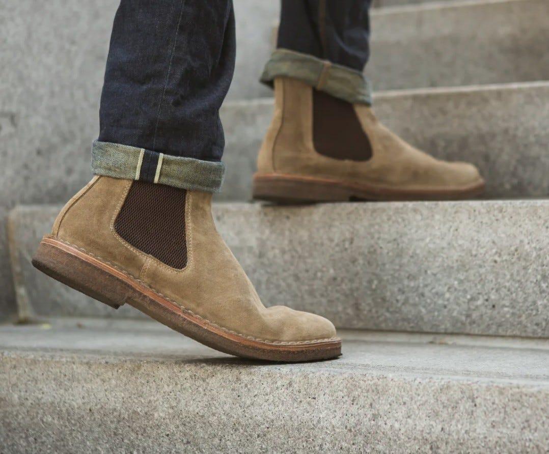 Astorflex Bitflex boots in stone colorway