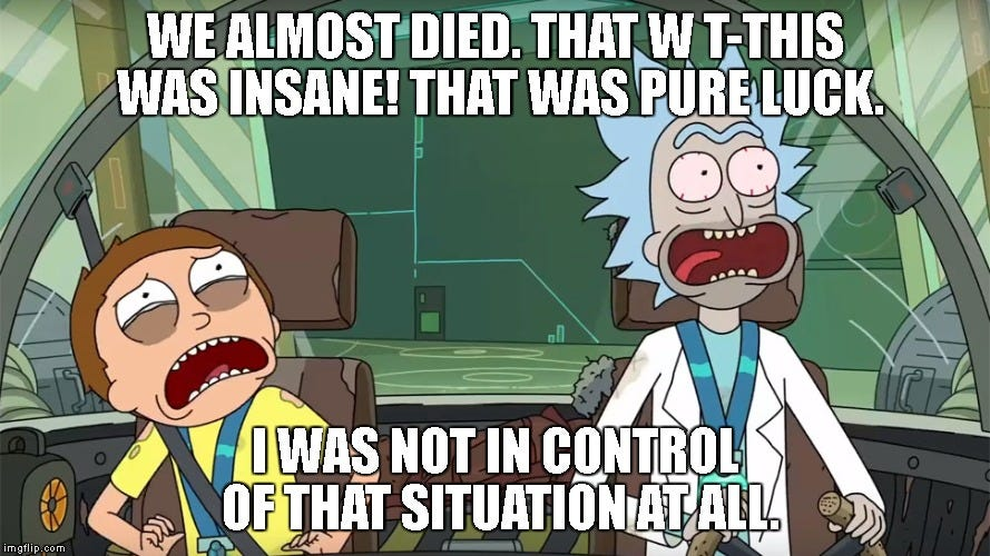 rick and morty not in control Memes & GIFs - Imgflip