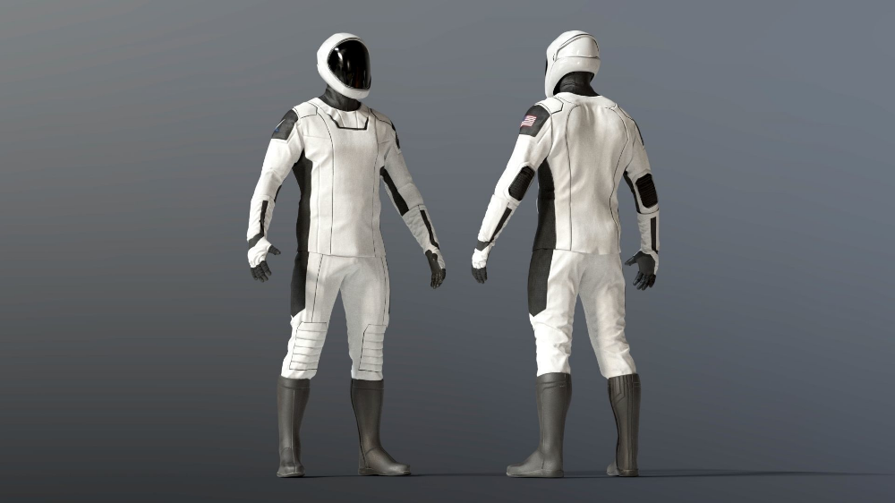 SPACESUIT SpaceX Dragon Starman | 3D model in 2021 | Space suit, Spacex  dragon, Spacex