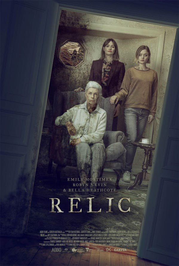 First Teaser Trailer for Acclaimed Horror 'Relic' with ...
