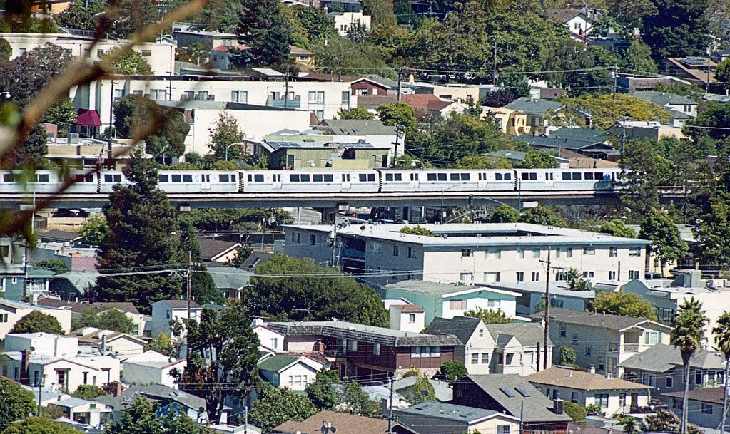 """""""BART train from Alb H 7-13 1"""" by THE Holy Hand Grenade! is licensed under CC BY-ND 2.0"""