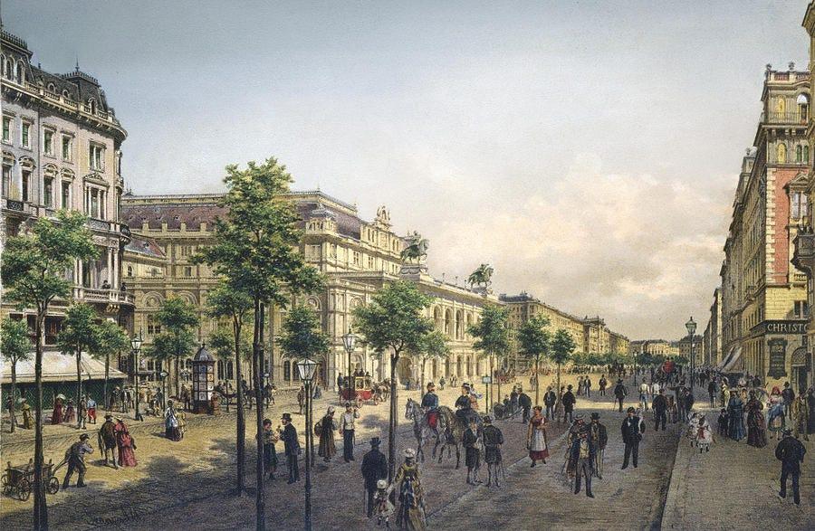 Paining of Vienna