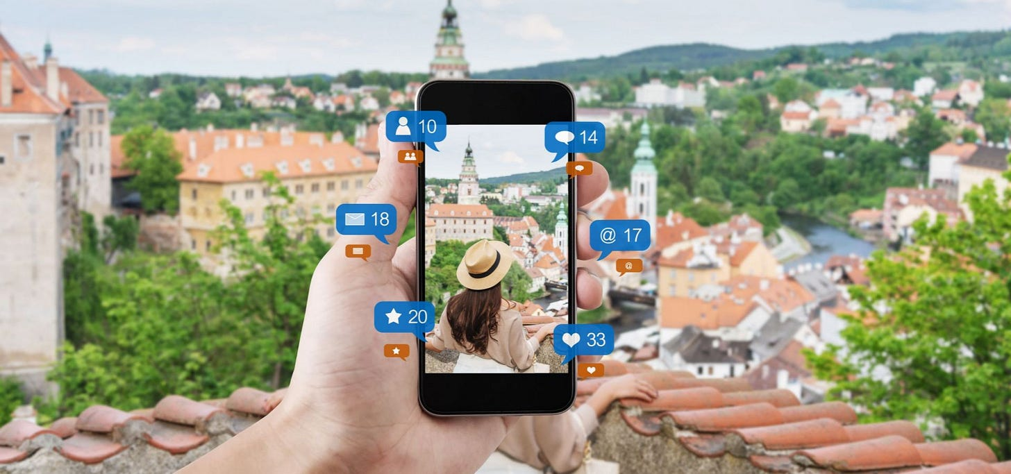 Is social media ruining your travel? | Travel News | Condé Nast ...
