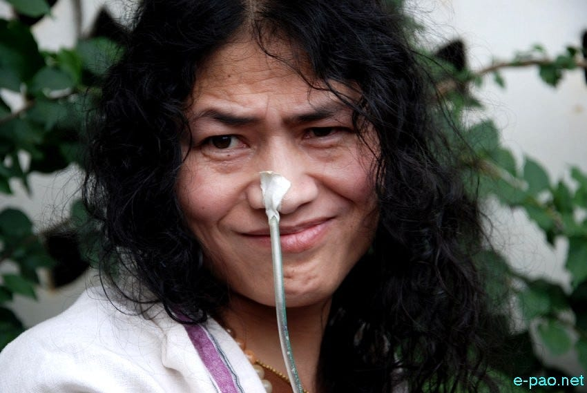 The Life And Times of The World's Longest Hunger Striker - Irom Sharmila -  The Better India