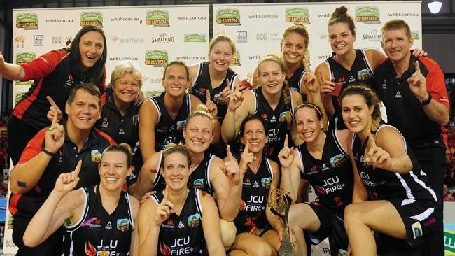 Reigning WNBL Champs!