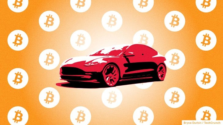 Tesla sees bitcoin as important financial tool to access cash quickly    TechCrunch