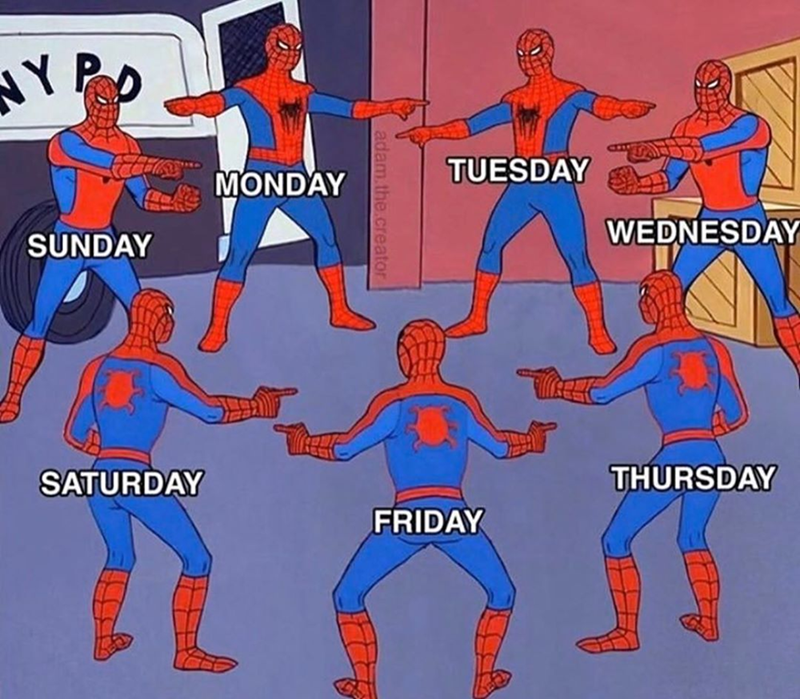 Seriously, What Day Is It? - Memebase - Funny Memes