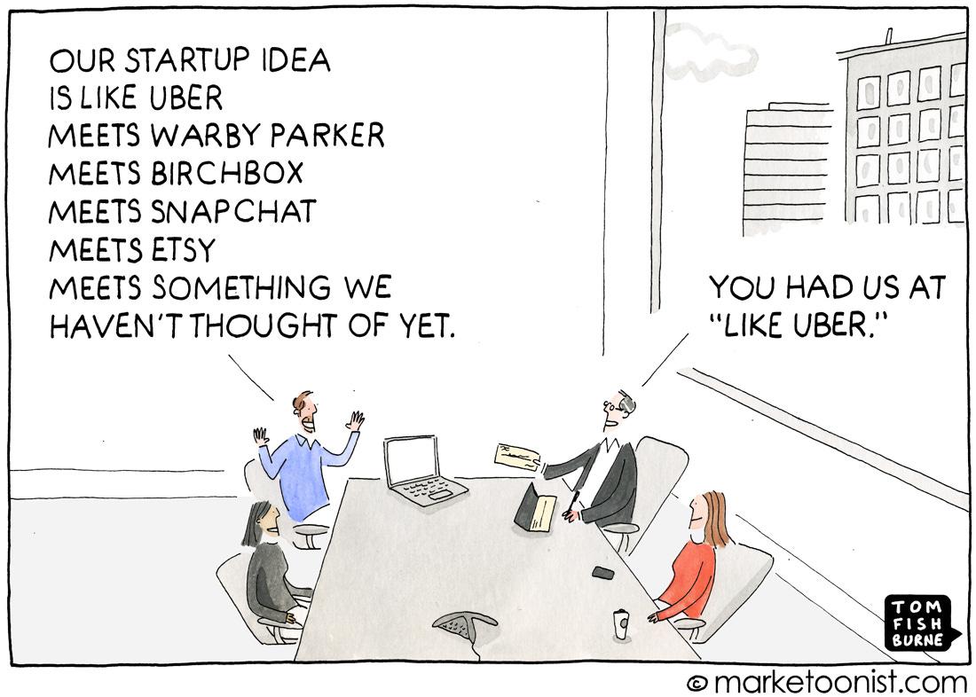 Disruptive Innovation cartoon   Marketoonist   Tom Fishburne