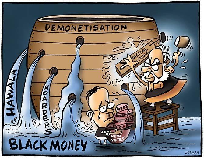 Image result for demonetization cartoon